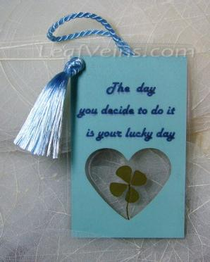 Lucky Gift Tag 003